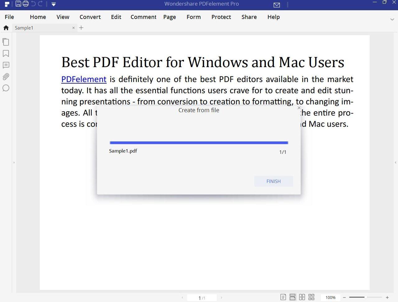 convert pub to pdf desktop