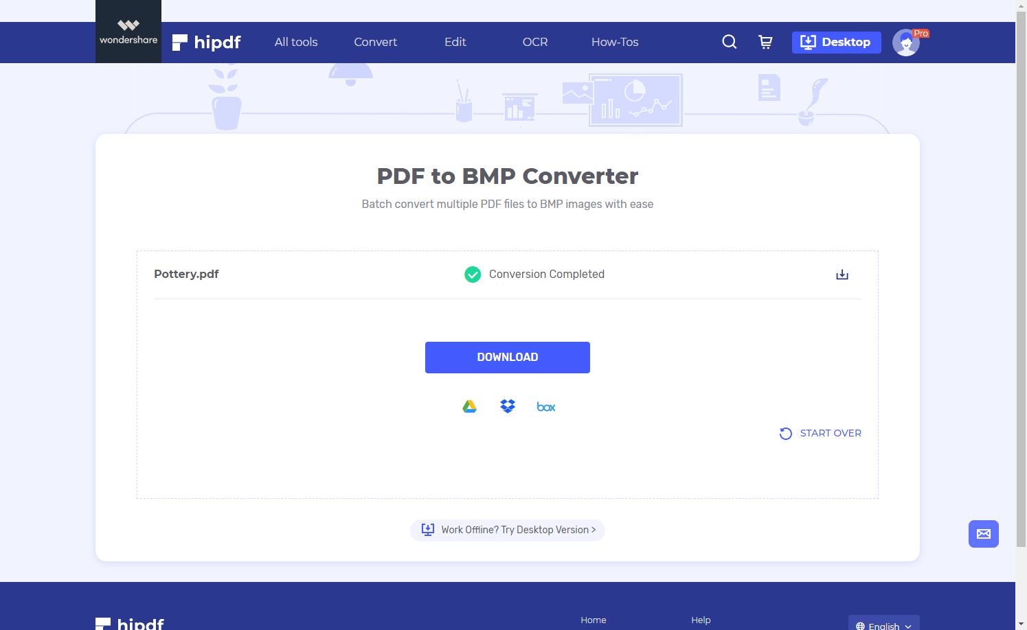 download pdf to bmp