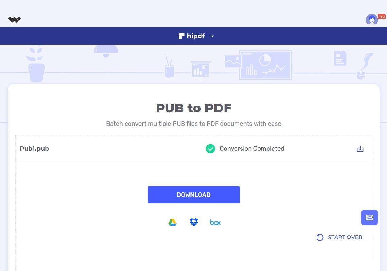 download pub to pdf online