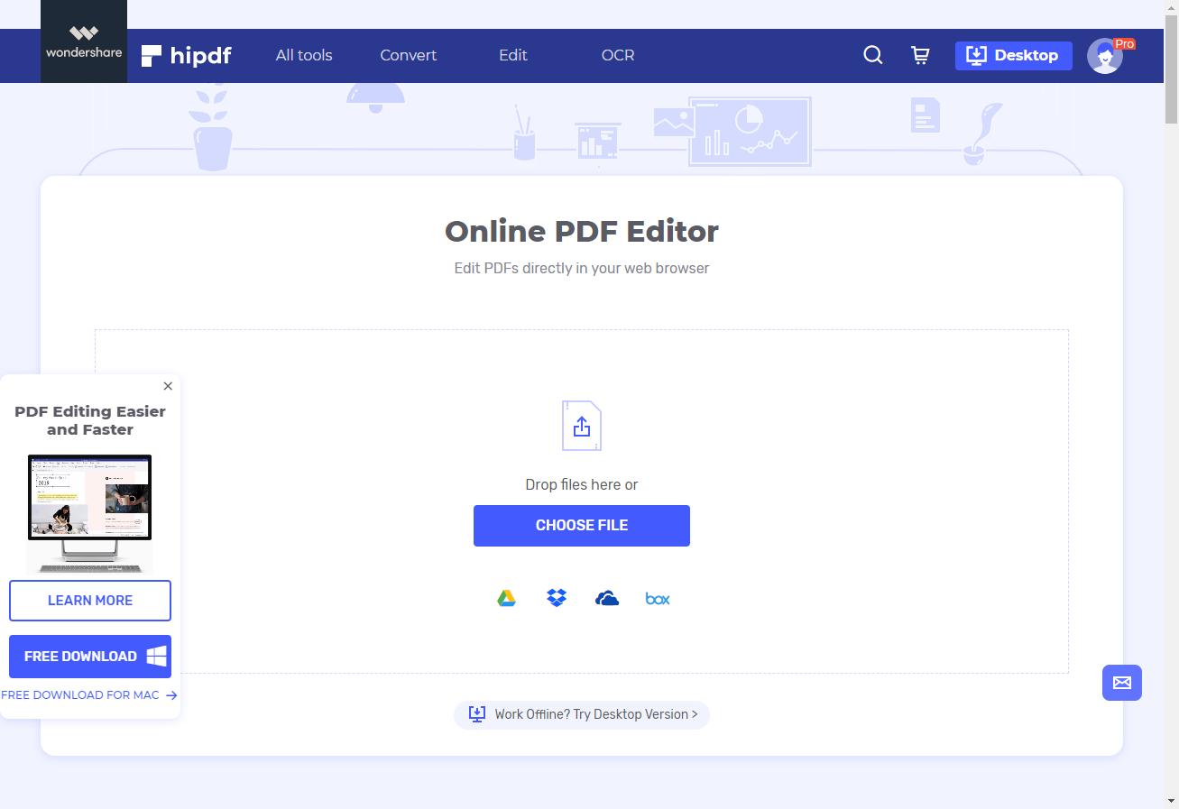 open pdf editor