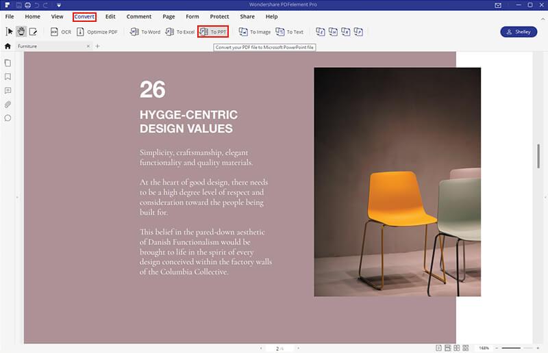 pdf to ppt desktop
