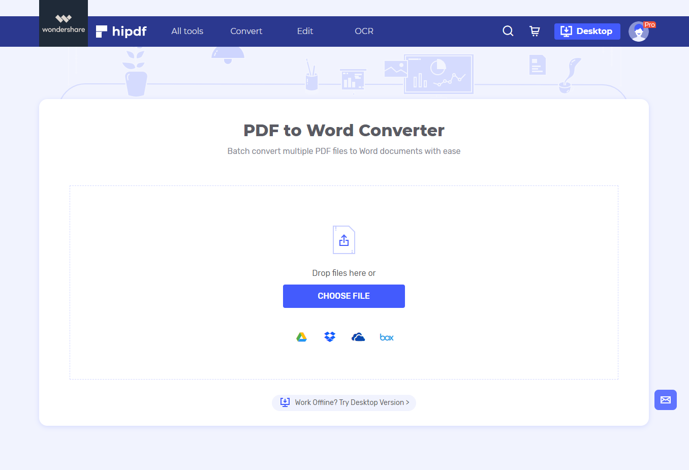pdf to word tool