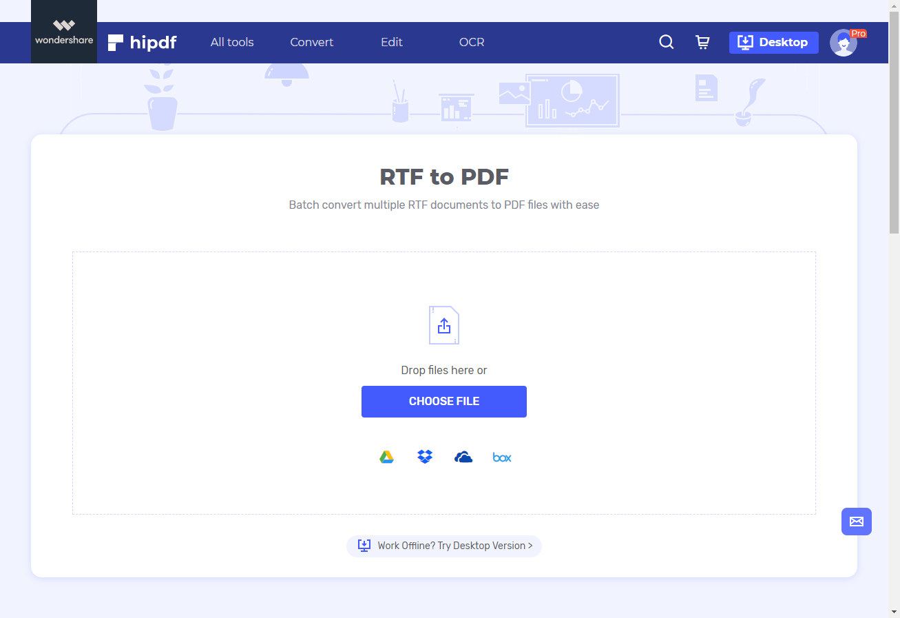 rtf to pdf converter online free