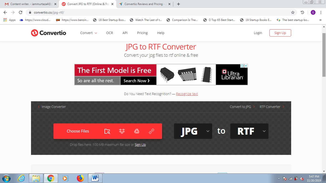 convertio jpg to rtf converter