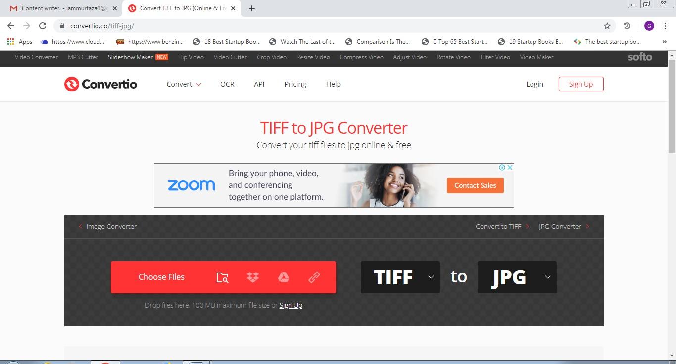 convertio tiff to jpg converter