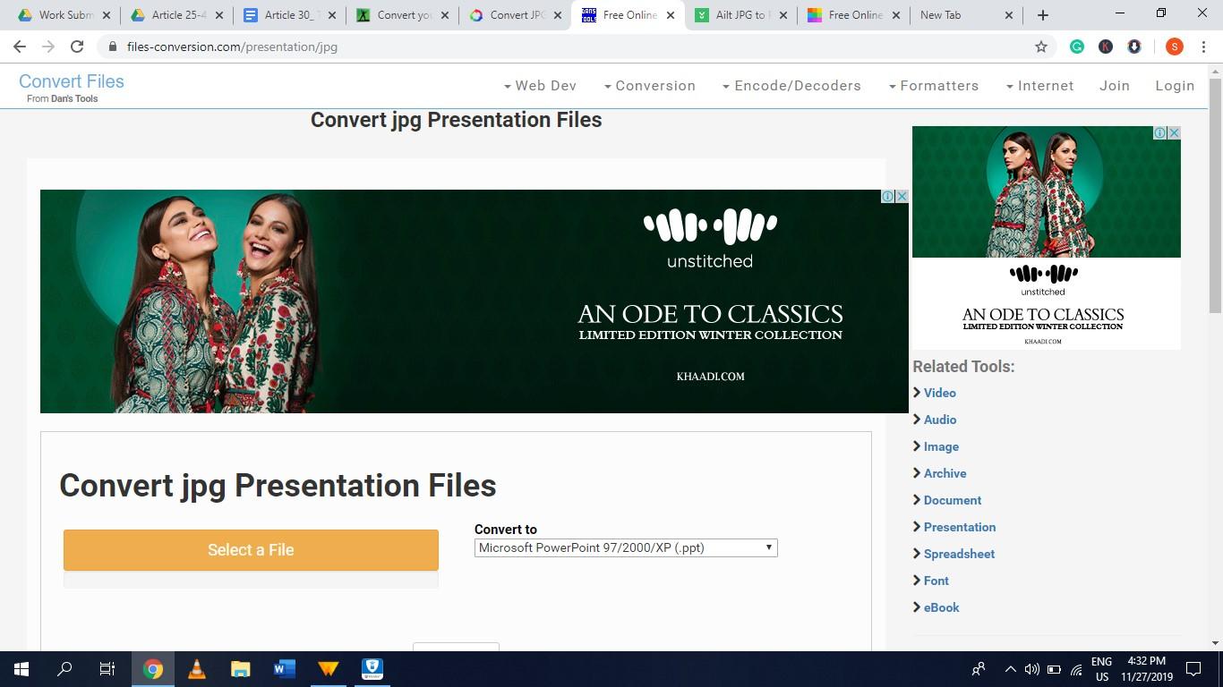 filesconversion jpg to ppt converter