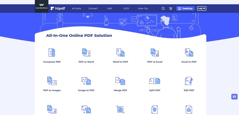 hipdf homepage