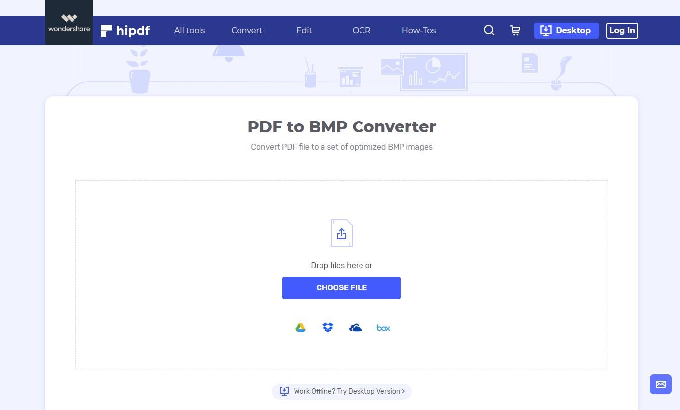 hipdf pdf to bmp converter