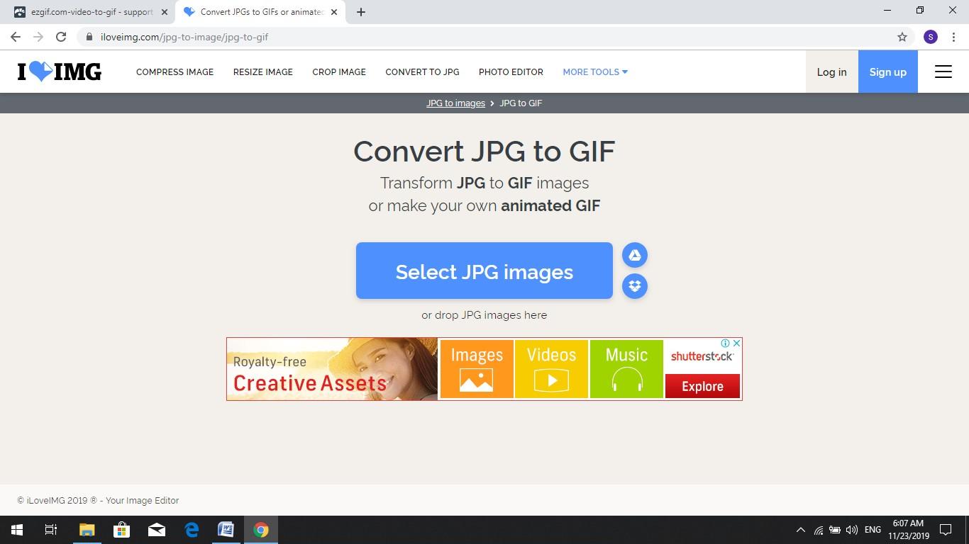 iloveimg jpg to gif converter