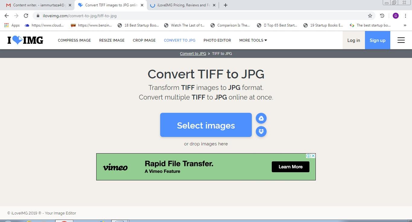 iloveimg tiff to jpg converter