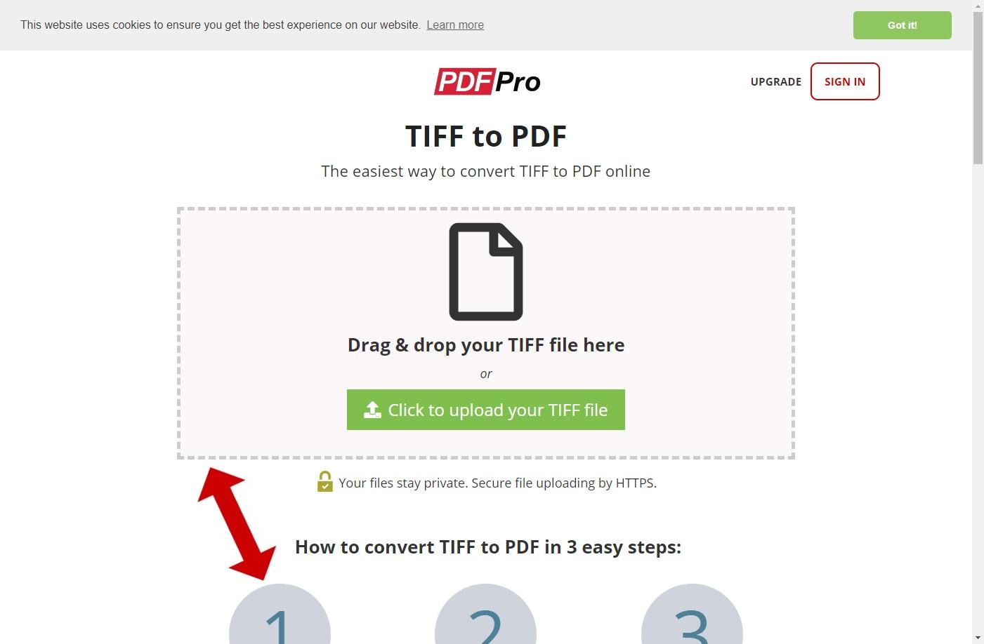 pdfpro tiff to pdf converter