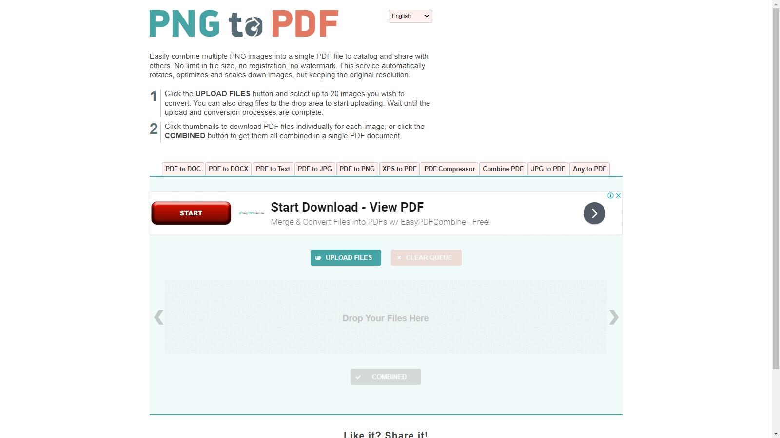 pngtopdf png to pdf converter