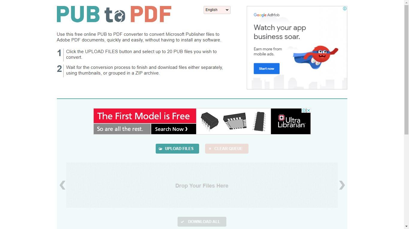 pubtopdf pub to pdf converter
