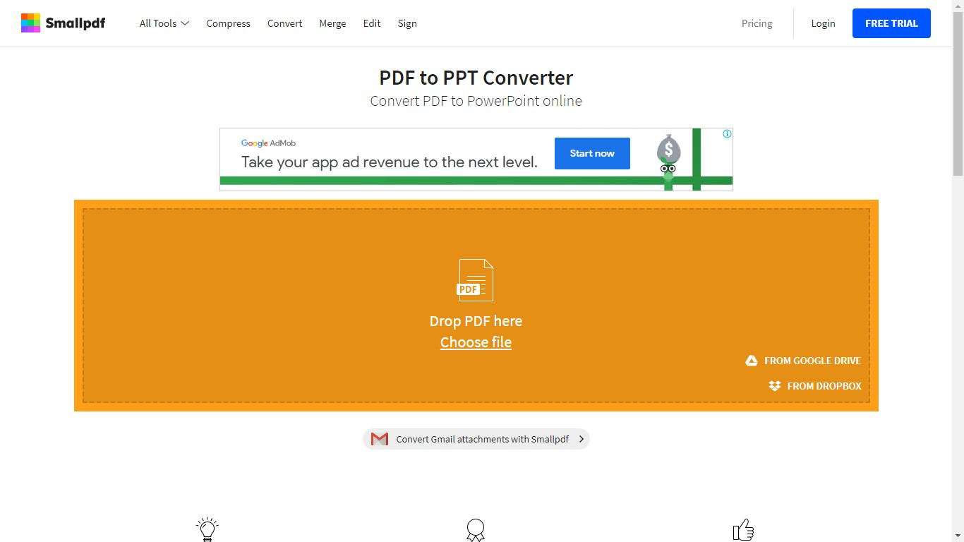 smallpdf pdf to ppt converter