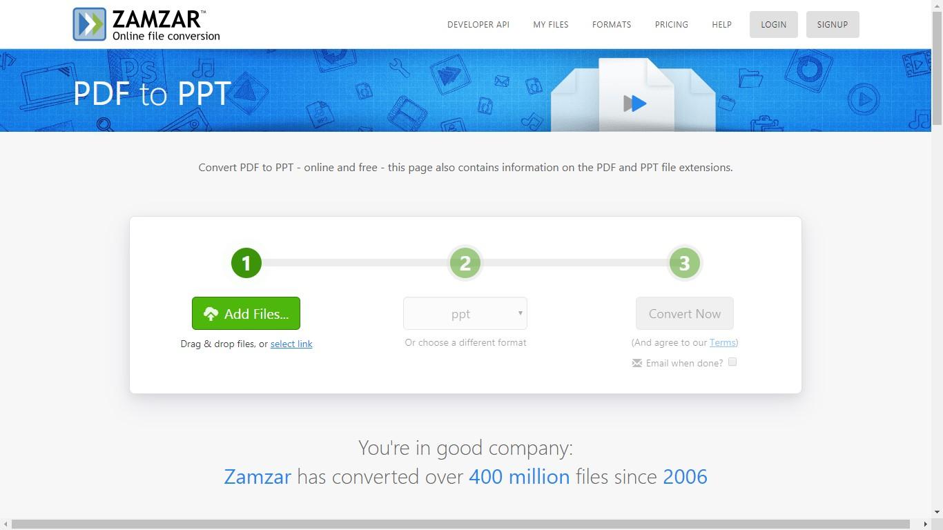 zammar pdf to ppt converter